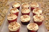 Red Velvet Cupcakes avec glaçage au fromage à la crème de cuisson