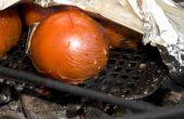 Feu de tomates grillées (al dente)