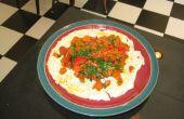 Pesto carotte oeuf petit déjeuner