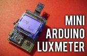 Luxmètre Arduino mini