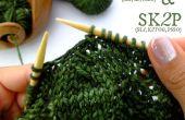 SKP & SK2P – 2 mailles de tricot facile baisse !