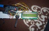 Mesurer la température et de l'afficher sur un écran LCD