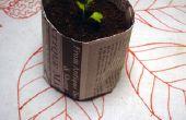 Faire vos propres Pots semis de journal