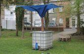 Autonome eau de pluie collecteur