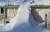 Rampe de neige géant