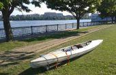 Remettre en état une peau sur cadre Kayak