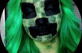 Maquillage de plante grimpante Minecraft