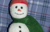 Adorable bonhomme de neige ornements