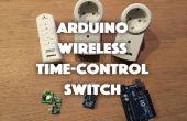 Interrupteur de contrôle horaire (433MHz) sans fil de Arduino pour plusieurs périphériques