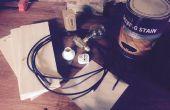 Lampe punk à vapeur sur 3040 CN