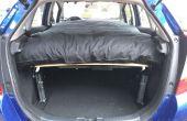 Voiture Camping dans une voiture compacte