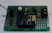 Faible coût enregistreur de données de température (DS18B20) WIFI basé sur ESP8266 avec une connectivité à thingspeak.com