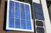 Construire un panneau solaire de bon marché, utilisable sous la douche pour le plaisir