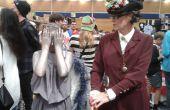 Ianina tenue et chapeau de Dr Who