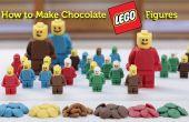 Les personnages Lego chocolat