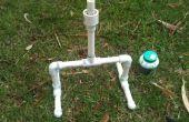 Bouteille d'eau impressionnant lance-roquettes