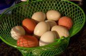 Ce qui rend difficiles bouilli avec des œufs frais