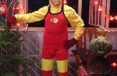 Mon costume d'halloween Iron Man Classic