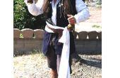 Comment faire un costume du capitaine Jack Sparrow sur un budget chaussure !