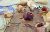 Faire un anneau en bois Chunky