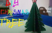 Arbre de Noël bricolage comment faire du papier