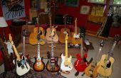 Gérer les changements de chaîne sur plusieurs guitares