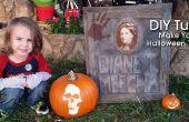 Pierre tombale de bricolage Halloween