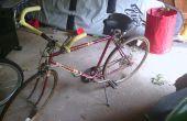 Road Bike converti à un vélo de confort