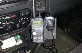 Bâti de voiture portatif émetteur-récepteur (HT)