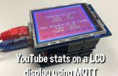 Afficher les Stats YouTube sur une 320 x 240 Pixel LCD écran relié à un Arduino Uno