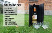 Vin boîte Flat-Pack