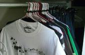 Comment faire pour prolonger la vie de vêtements et de suivre son utilisation dans un petit placard