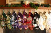 Tissé ruban bas de Noël