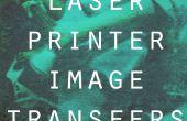 Transferts d'images imprimante laser