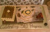 Gâteau de progrès du pèlerin