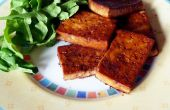 Sarriette mariné Tofu