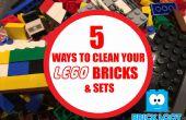 Comment nettoyer vos briques LEGO et jeux !