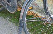 Recyclé en cuir Mud Flap pour un vélo Vintage