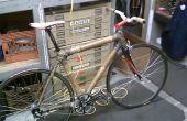 Bambou et vélo de route de chanvre