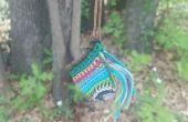Crochet pochette collier
