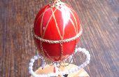 Monde-dans-un-oeuf : Faire un style Fabergé œuf à la poule