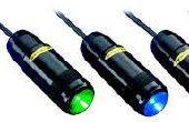 Lumière LED indicateurs pour EV, véhicule électrique de Charge Stations