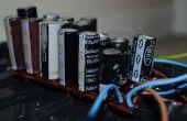 Faire une batterie de condensateurs à bas prix appareil photo jetable