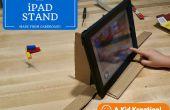 Carton iPad Stand pour Stop Motion vidéos