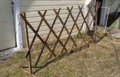 Treillis de jardin pliable/extensible