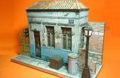 Modèle en papier maison abandonnée brésilien