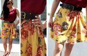 Recueillies robe d'été