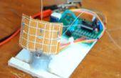 Mono-axe PIC contrôlée traqueur solaire Kit DIY