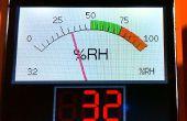 Arduino croquis pour un graphisme rétro compteur analogique sur un écran TFT modern
