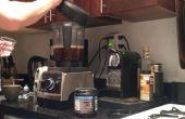Café de l'huile de coco paléo